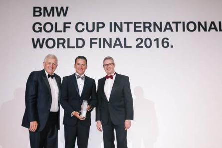 Felipe Olvera obtiene el primer lugar en la BMW Golf Cup International World Final